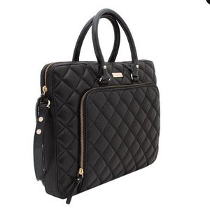Kate Spade Gold Coast Janine Quilted Computer Bag